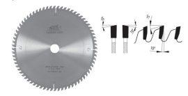 Pilana keresztvágó körfűrészlap 350 3,6 /2,5 x 30 Z84 ( 81-13 WZ )
