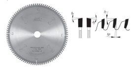 Pilana keresztvágó körfűrészlap 250x3,2/2,2x30 72 ( 81-11 WZ )HM