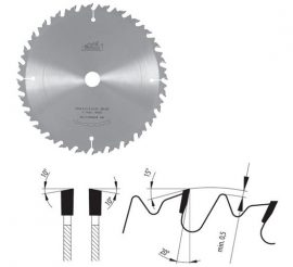 Pilana körfűrészlap vegyes használatra 700 4,2 /3 x 30 Z60 ( 83-35 LWZ )