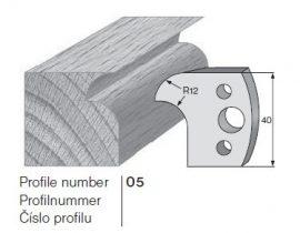 Pilana profilkés No. 05 maróblanketta 40x4,0 mm