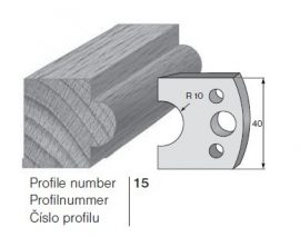 Pilana profilkés No. 15 maróblanketta 40x4,0 mm