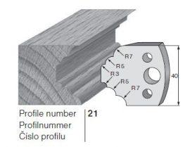 Pilana profilkés No. 21 maróblanketta 40x4,0 mm
