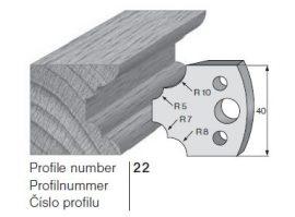 Pilana profilkés No. 22 maróblanketta 40x4,0 mm