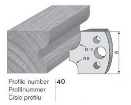 Pilana profilkés No. 40 maróblanketta 40x4,0 mm