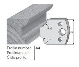 Pilana profilkés No. 44 maróblanketta 40x4,0 mm