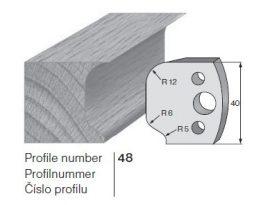 Pilana profilkés No. 48 maróblanketta 40x4,0 mm