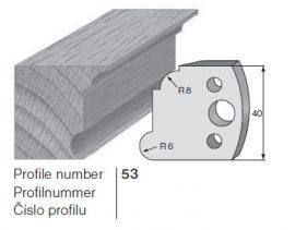 Pilana profilkés No. 53 maróblanketta 40x4,0 mm
