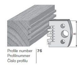 Pilana profilkés No. 76 maróblanketta 40x4,0 mm