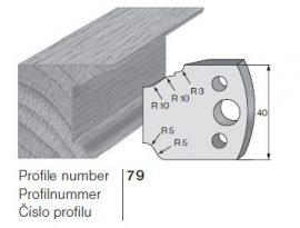 Pilana profilkés No. 79 maróblanketta 40x4,0 mm
