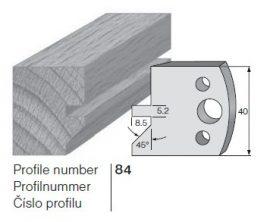 Pilana profilkés No. 84 maróblanketta 40x4,0 mm