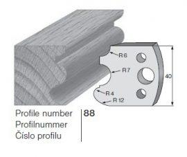 Pilana profilkés No. 88 maróblanketta 40x4,0 mm