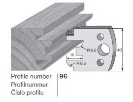 Pilana profilkés No. 96 maróblanketta 40x4,0 mm