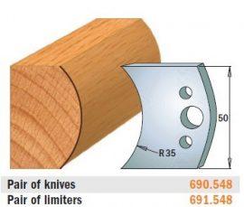 HSS marólapka No. 548 B=50 CMT 690.548