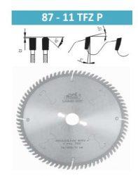 Pilana alu vágó körfűrészlap 300x3,2/2,5x30 Z96 T( 87-11 TFZ P)
